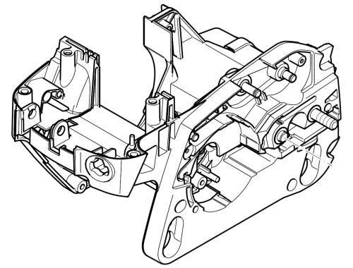 Kettenradschutz für Dolmar PS-32 TLC 142782-9 125213161 PS-35 TLC 125213162