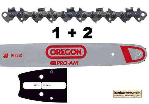 3 Oregon Sägeketten 325-62E-1,6 Schwert 153SFGD025 38cm für STIHL MS 261 271